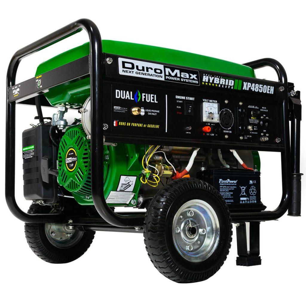 DuroMax XP4850EH 3850 Dual Fuel Generator
