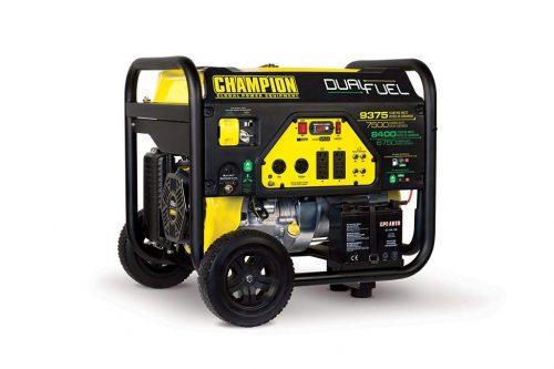 Champion 7500-Watt Dual Fuel Generator