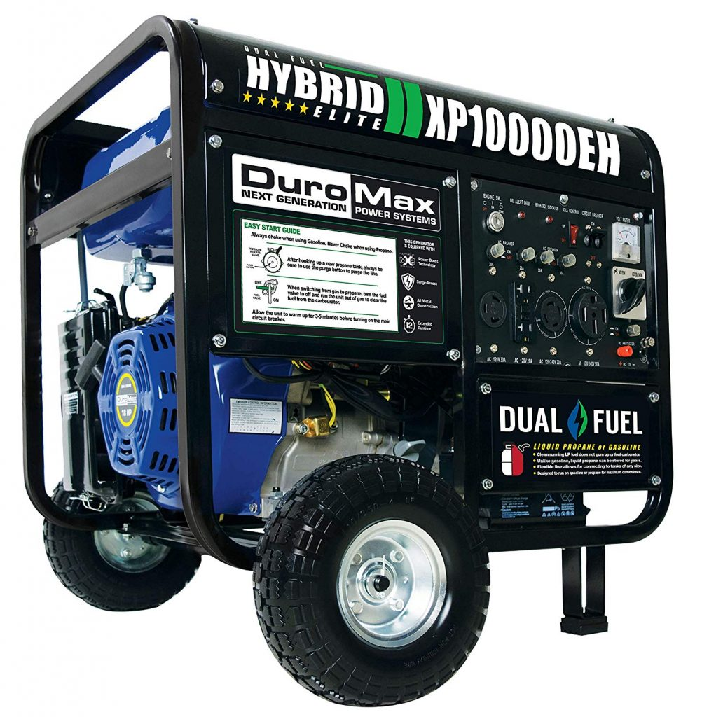 Duromax XP10000EH Dual Fuel Generator