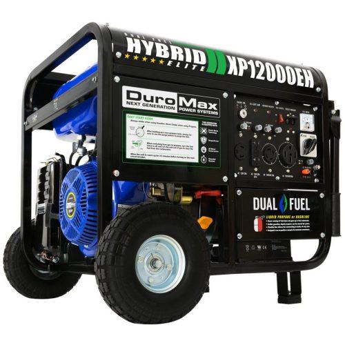 DuroMax Hybrid   XP12000EH 12,000-Watt Dual Fuel Generator