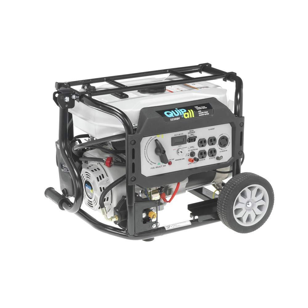 Quipall 5250DF Dual Fuel Generator