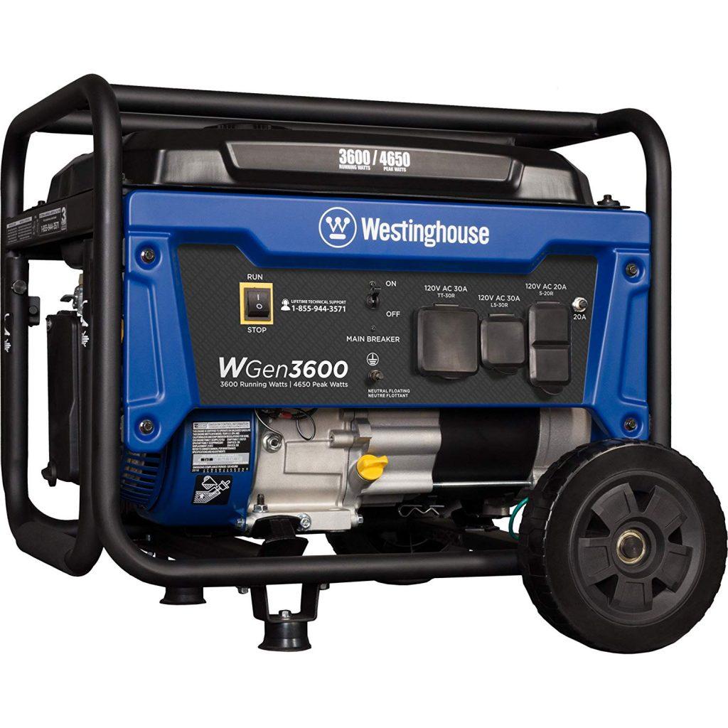 Westinghouse WGen3600 Generator for Travel Trailer