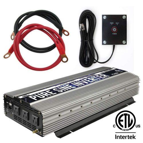 Power TechON 3000W Pure Sine Wave Inverter