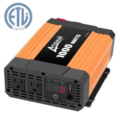 Ampeak 1000W Power Inverter for Truck