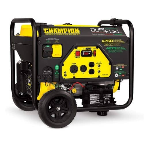 Champion 3800 Propane Generator