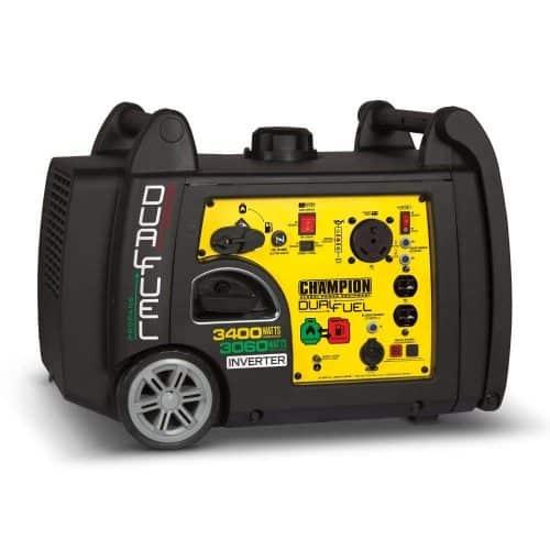 Champion 3400 propane generator