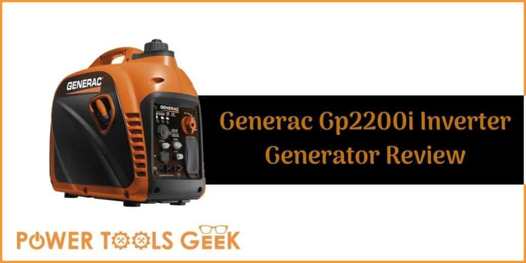 Generac Gp2200i Inverter Generator Review