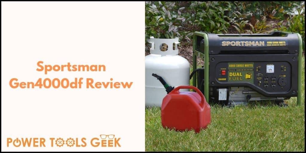 Sportsman Gen4000df Portable Generator