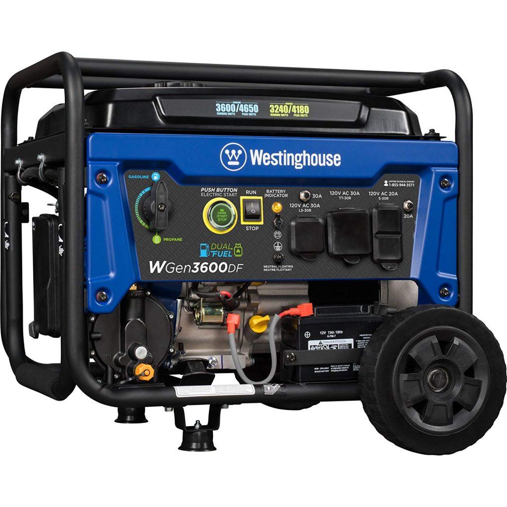 Westinghouse WGen3600DF propane generator