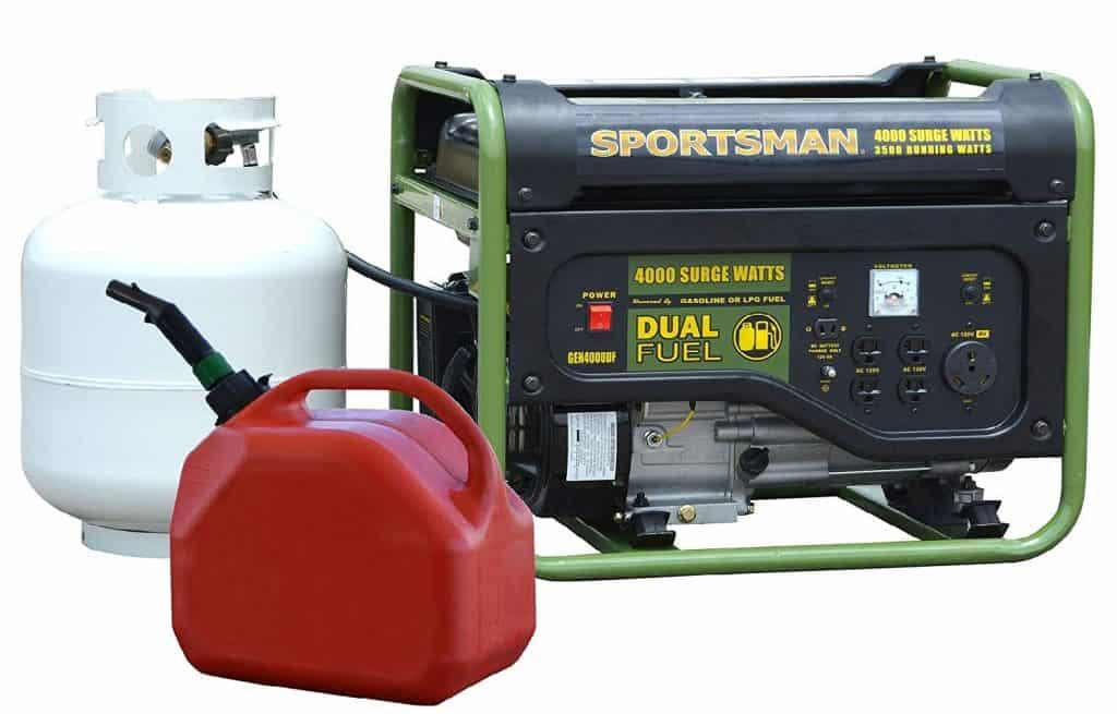 Alternative fuel option of generators