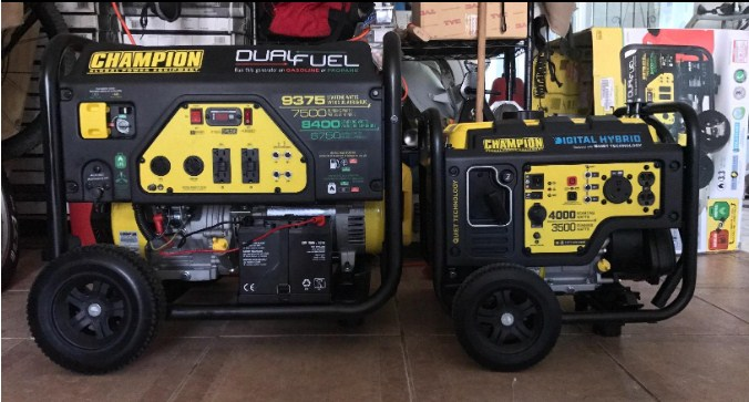 Generator size