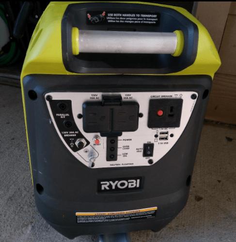 Ryobi Digital Inverter Generator