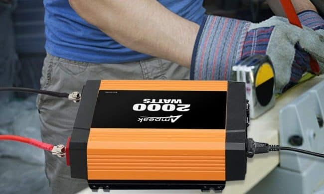 Using a power inverter